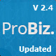 Probiz - An Easy to Use and Multipurpose Business and Corporate WordPress Theme - ThemeForest Item for Sale