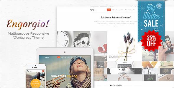 Engorgio   All Purpose Expressive WordPress Theme - Responsive - Portfolio Creative