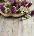 Fresh raw purple cauliflower - PhotoDune Item for Sale