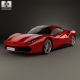 Ferrari 488 GTB with HQ interior 2016 - 3DOcean Item for Sale