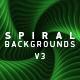 Spiral Backgrounds V3 - VideoHive Item for Sale