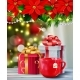 Background with Christmas Tea - GraphicRiver Item for Sale