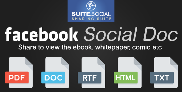 Social Sharer - Facebook Social Document - CodeCanyon Item for Sale