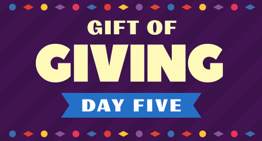 Gift of Giving - Day 5