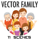 Vector Family Illustration Pack