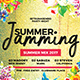 Summer Jamming Flyer - GraphicRiver Item for Sale