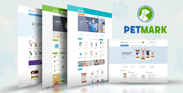 ThemeForest PetMark Pet Care Shop & Veterinary Magento 2 Theme 21117407