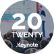 Twenty20 Keynote Presentation Slide - GraphicRiver Item for Sale
