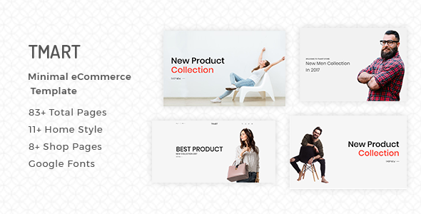 Tmart - Minimal eCommerce HTML5 Template - Shopping Retail