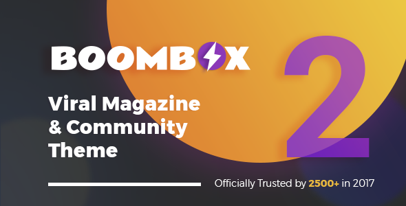 BoomBox — Viral Magazine WordPress Theme - News / Editorial Blog / Magazine