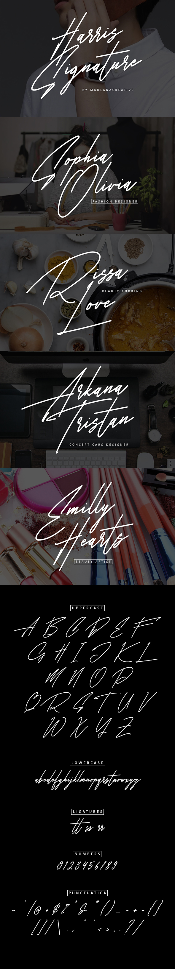 GraphicRiver Harris Signature Typeface 21117577