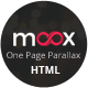Meox - One Page Parallax - ThemeForest Item for Sale