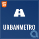 UrbanMetro - Township, City and Municipalities HTML Template