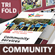 Community Service Trifold Brochure 2