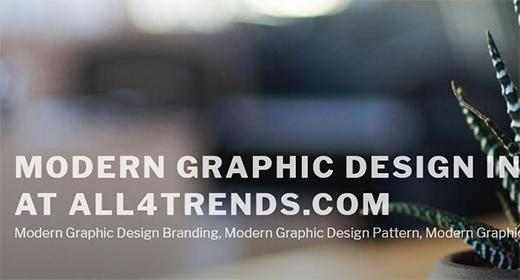 Modern Graphic Design