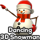Dancing 3D Snowman - 3 Pack - VideoHive Item for Sale