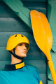Mannequin with kayaking equipment - PhotoDune Item for Sale