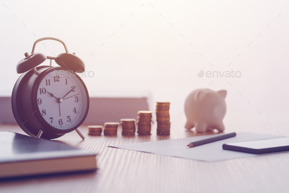 Savings, finances, economy and home budget - Stock Photo - Images