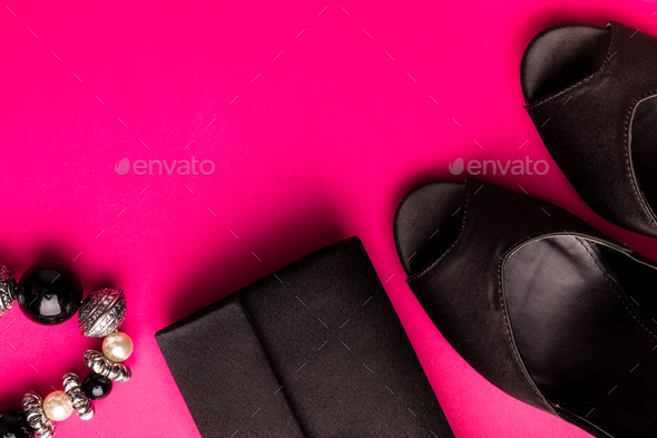 Fashion Lady Woman Accessories Set - Stock Photo - Images