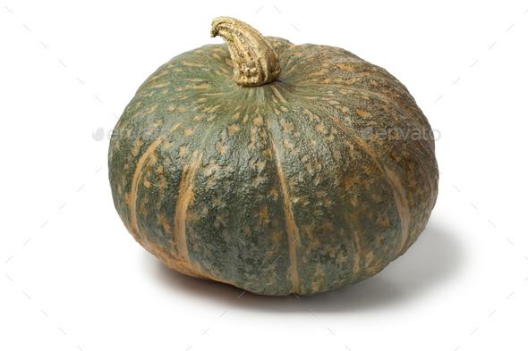 Fresh picked pumpkin Courge Delica Moretti - Stock Photo - Images