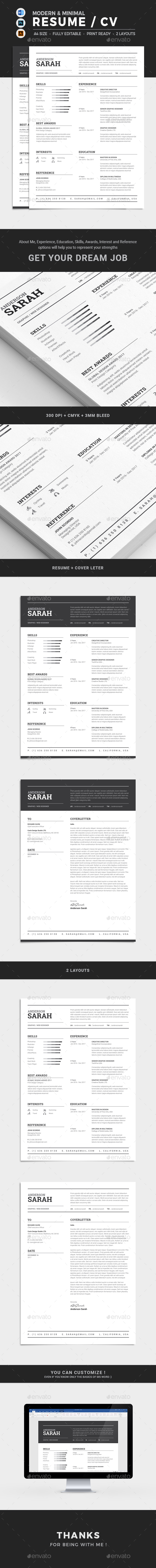GraphicRiver Resume 21116140
