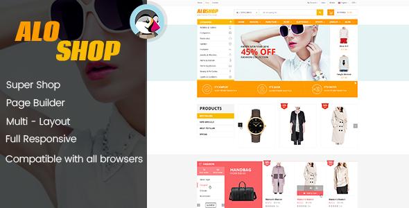 AloShop - Mega Store & Flexible Page Builder Prestashop 1.7.x Theme (10 home page) - Shopping PrestaShop
