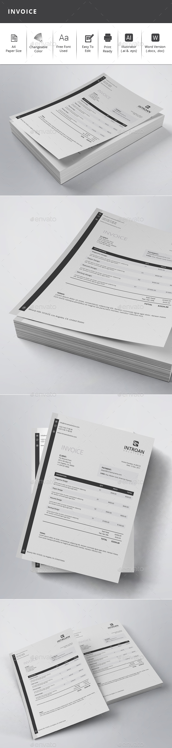 GraphicRiver Invoice 21118837