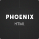 Phoenix - Services HTML Template - ThemeForest Item for Sale