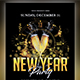 New Year Part Flyer - GraphicRiver Item for Sale