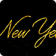 Happy New Year - Glitter Animation with Transparency - VideoHive Item for Sale