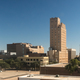 Fall Afternoon Blue Sky Lubbock Texas Downtown City Skyline - PhotoDune Item for Sale
