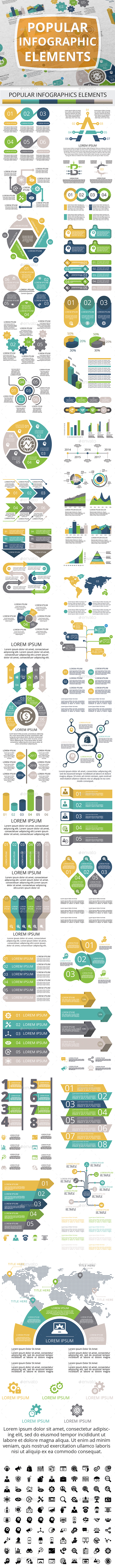 GraphicRiver Popular Infographic Elements 21119099