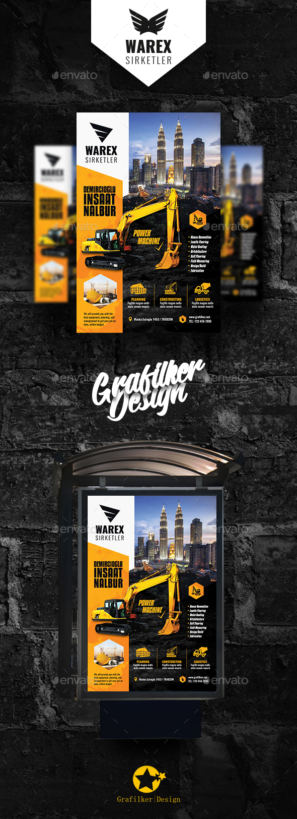 GraphicRiver Construction Poster Templates 21119165