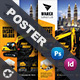 Construction Poster Templates - GraphicRiver Item for Sale