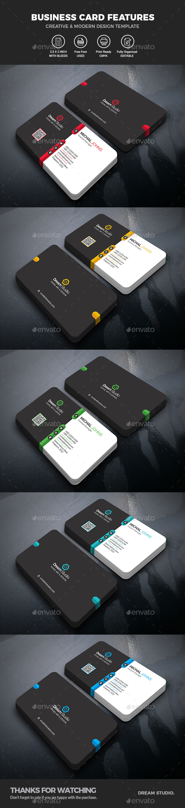 GraphicRiver Business Cards 21119456