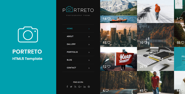 Image of Portreto - Photography & Portfolio HTML5 Template