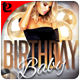 Birthday Party Flyer Template - GraphicRiver Item for Sale