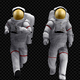 Astronaut - Walk And Run Animations (4-Pack) - VideoHive Item for Sale