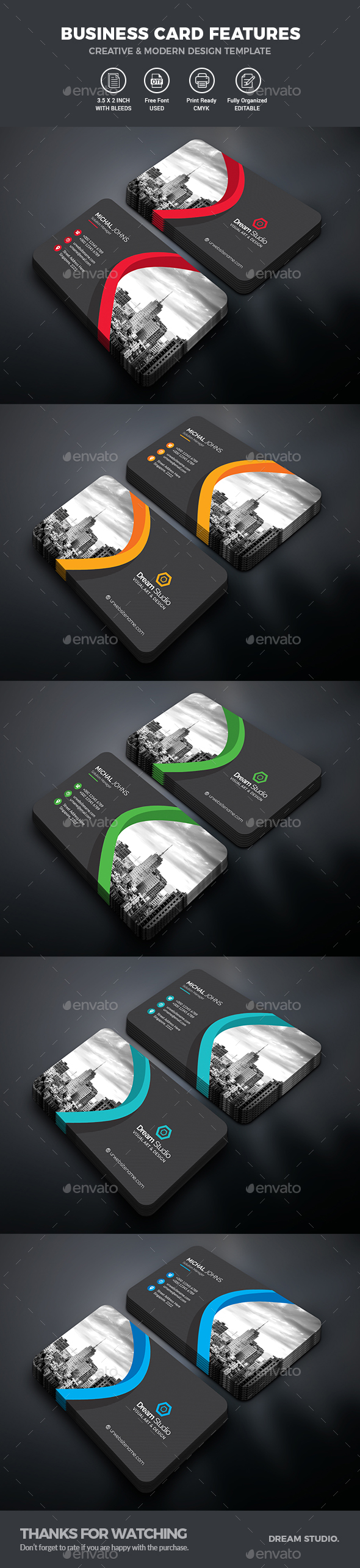 GraphicRiver Business Cards 21119588