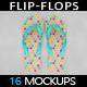 Flip Flop Mockup - GraphicRiver Item for Sale