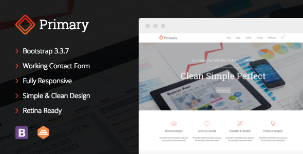 Primary - Business Joomla Template