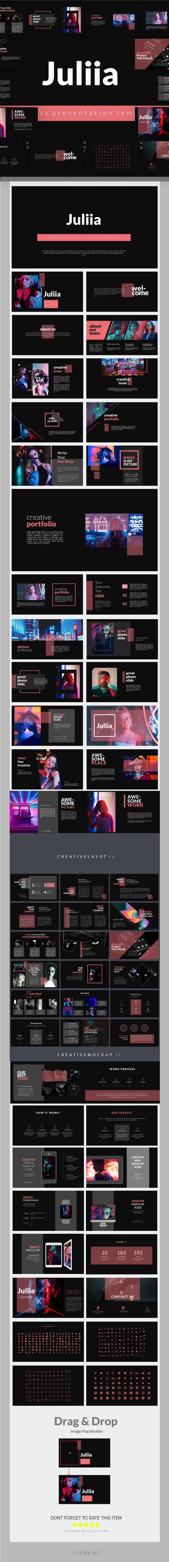 GraphicRiver Juliia Keynote Presentation Templates 21120269