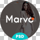 Marvo Stylish - Fashion Shop PSD Templates