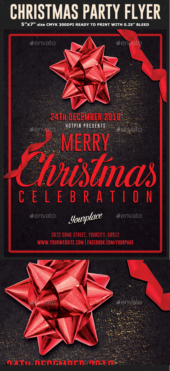 GraphicRiver Christmas Flyer Template 21120404