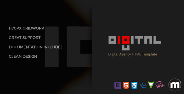 Image of Digital - Business HTML Template