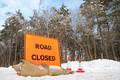road closed - PhotoDune Item for Sale