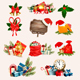 Big Set of Christmas Icons and Objects