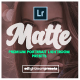 30 Premium Matte Portrait Lightroom Presets