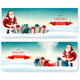Two Holiday Christmas Banners - GraphicRiver Item for Sale