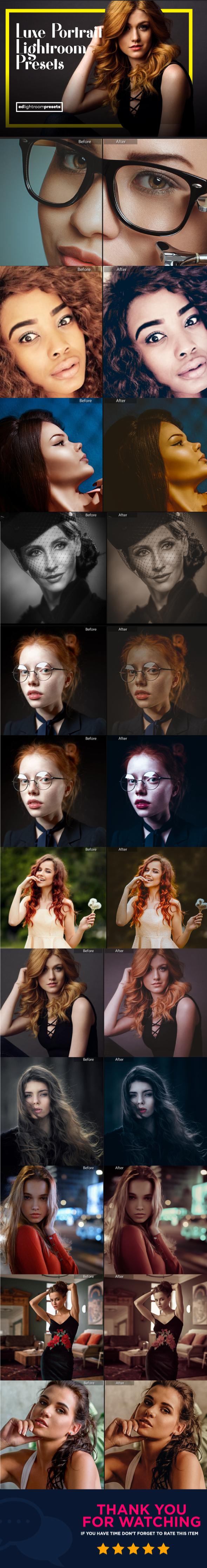 11 Color Crush Lightroom Presets - Portrait Lightroom Presets